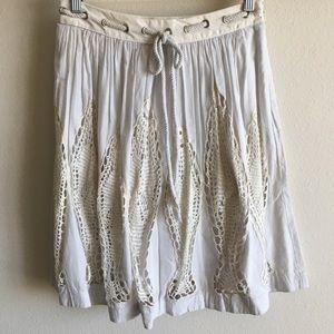 Anthro Fish Crochet Skirt 🐟